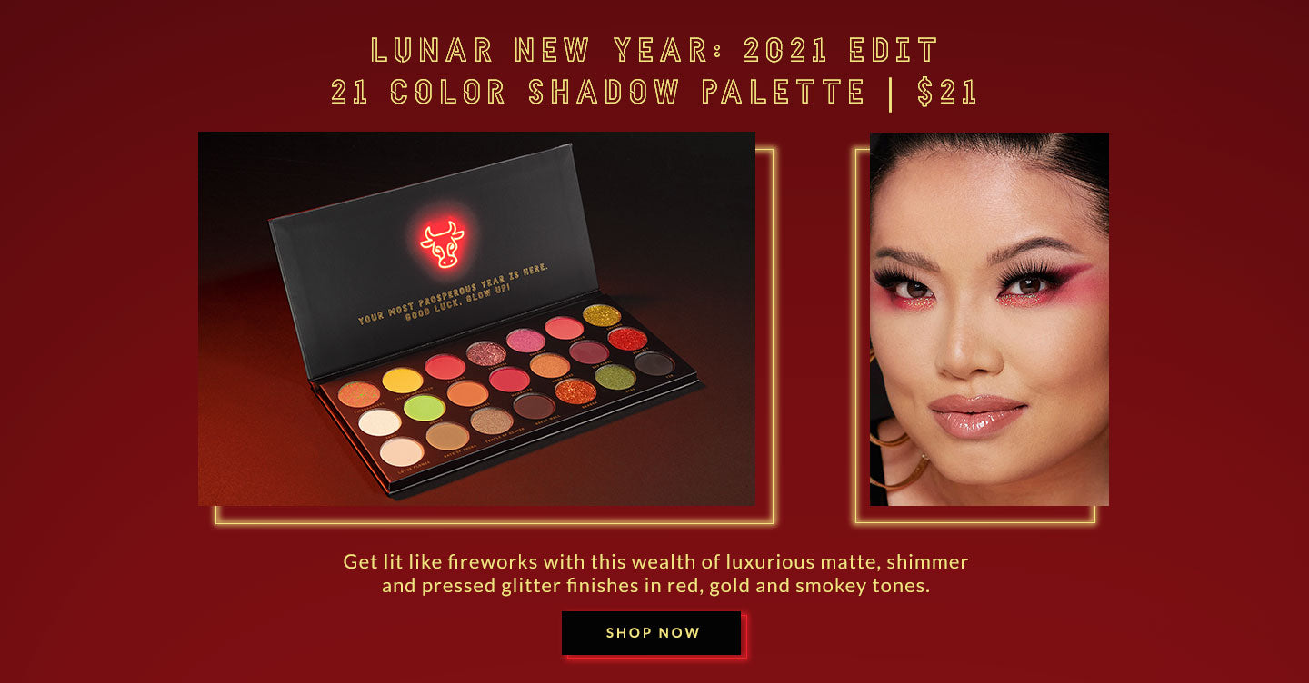 Lunar New Year: 21 Color Shadow Palette