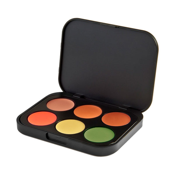 6 Color Concealer & Corrector Palette - Medium