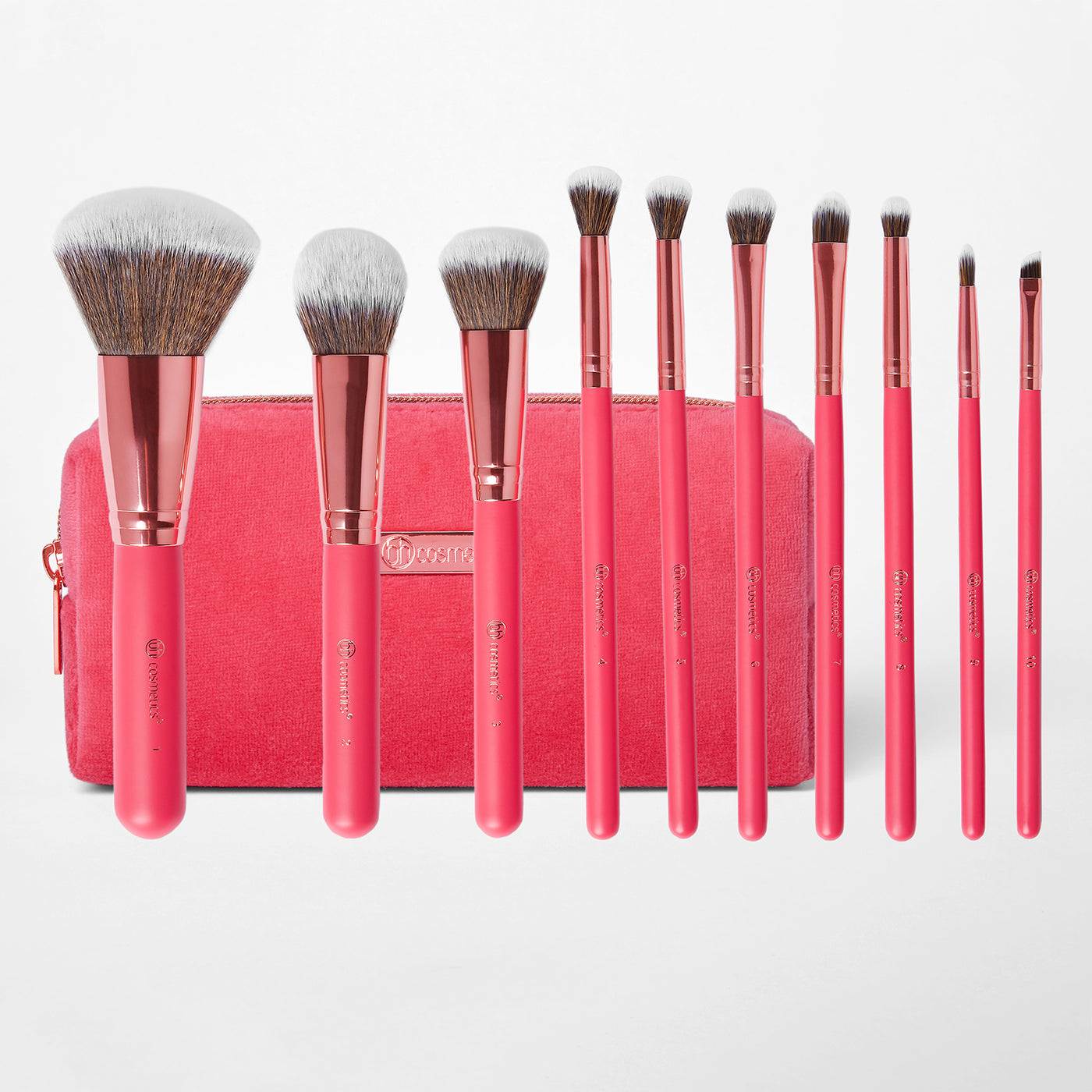 10 Piece Brush Set | Bombshell Beauty | BH Cosmetics