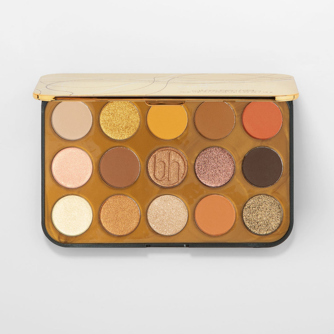 Buy Glam Reflection 15 Color Shadow Palette Gilded Bh