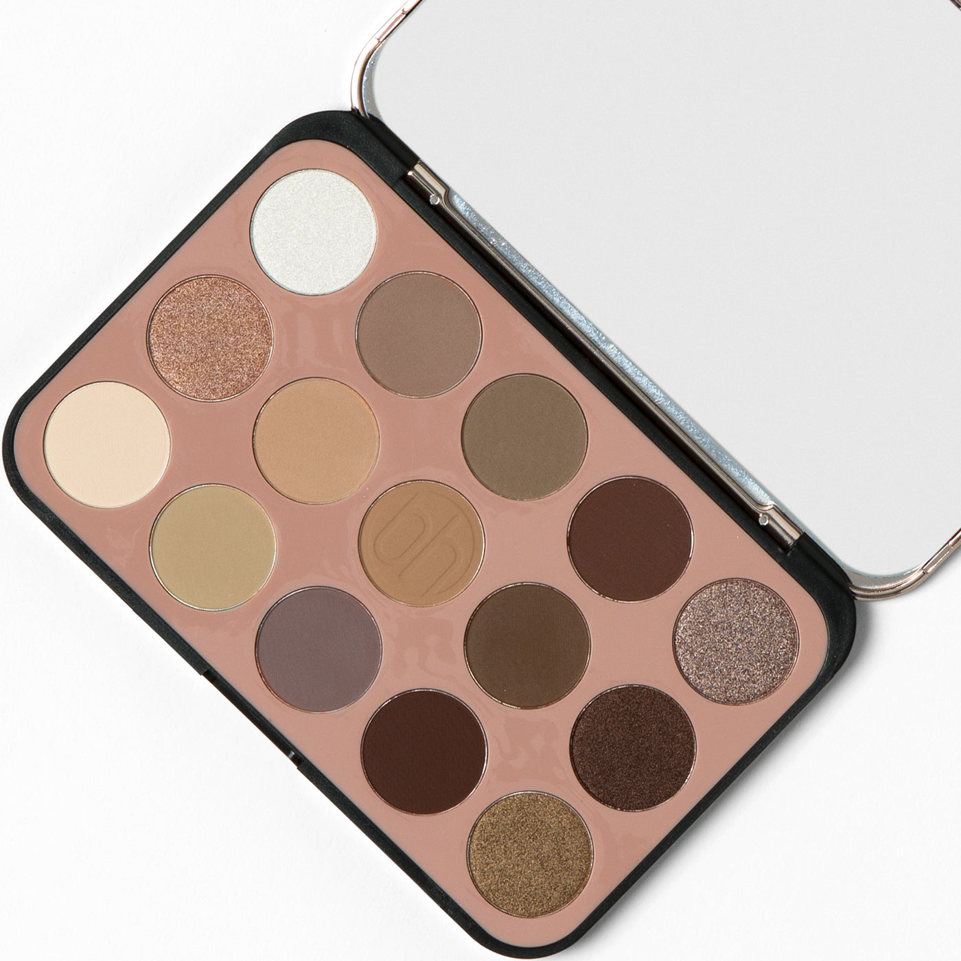 Glam Reflection 15 Color Shadow Palette Rose Bh Cosmetics
