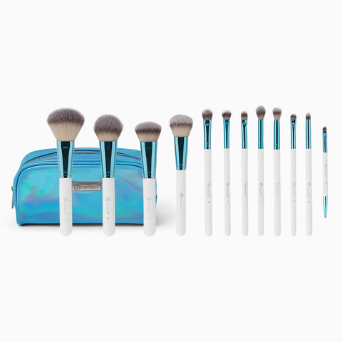 Poolside Chic 12 Piece Brush Set