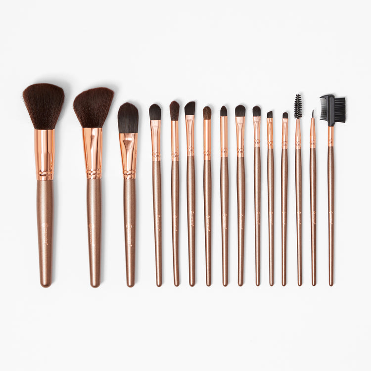 dac61ff343775 BH Cosmetics Brush Set with Cosmetic Bag - Pretty in Pink - 10pc ...