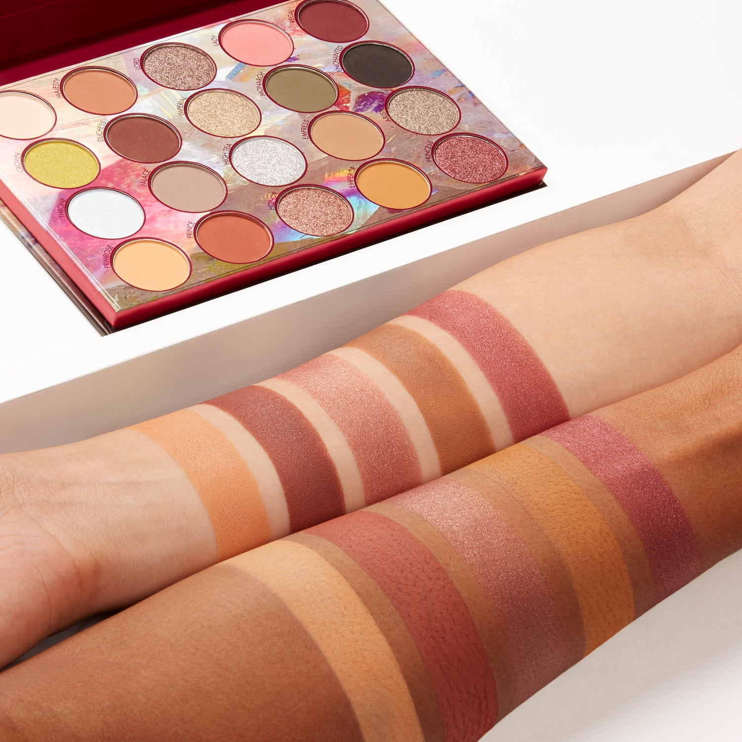 Desert Oasis 19 Color Shadow Highlighter Palette by BH Cosmetics #15