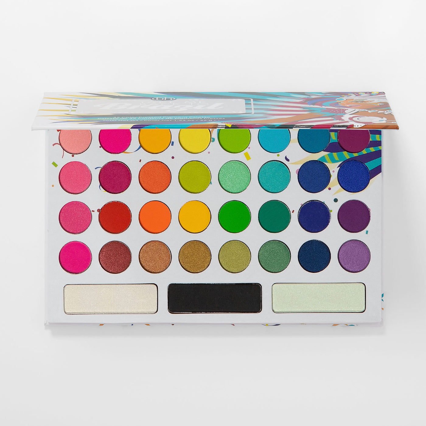 Take Me Back to Brazil 35 Color Pressed Pigment Palette | BH