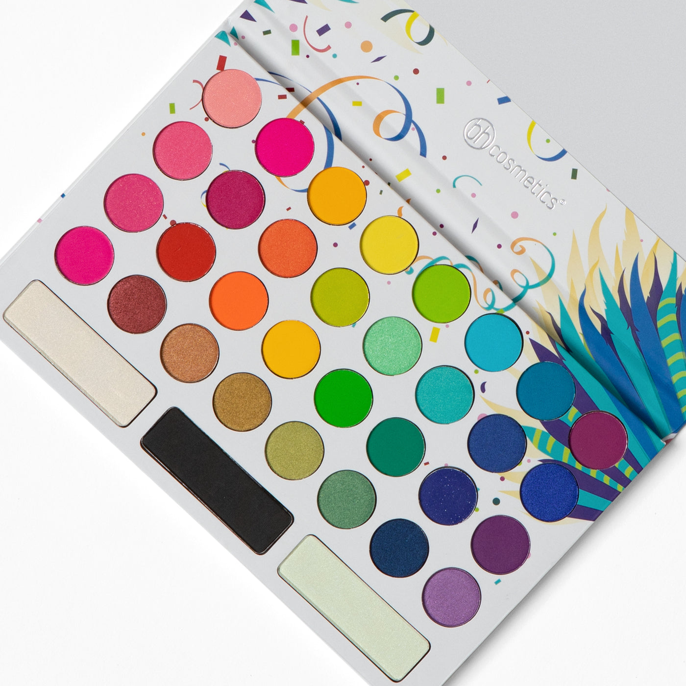 Take Me Back to Brazil 35 Color Pressed Pigment Palette | BH Cosmetics