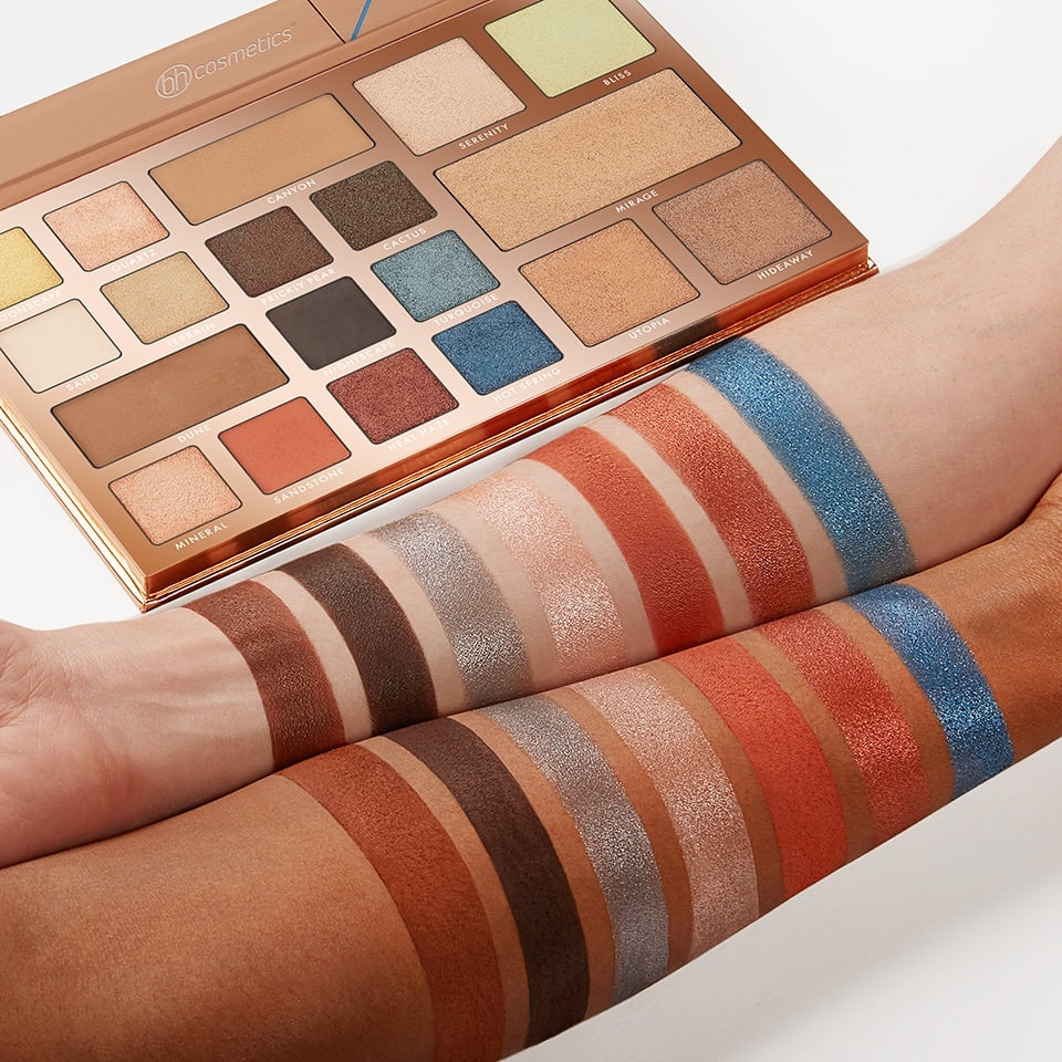 Desert Oasis 19 Color Shadow Highlighter Palette by BH Cosmetics #4