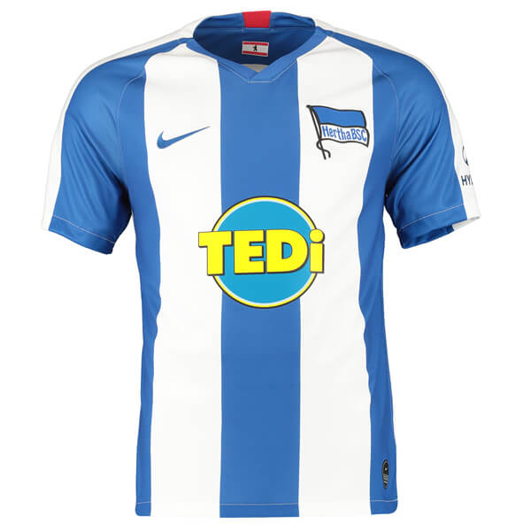Hertha Berlin Home Football Shirt 19/20 | TheFootballwear