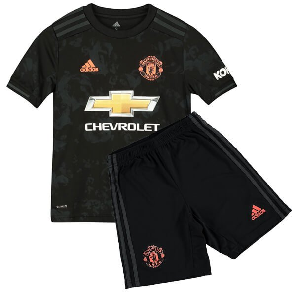the latest 599e5 7989c Manchester United FC 2019-2020 Kids Third Kit
