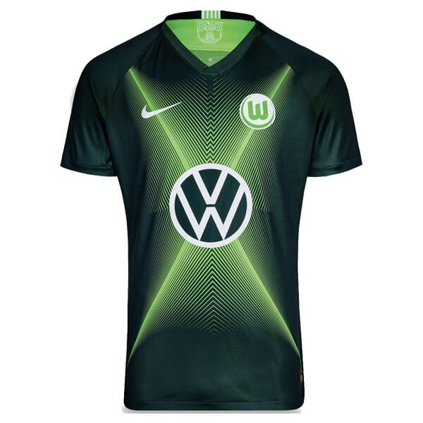 VFL Wolfsburg Home Football Shirt 19/20 | TheFootballwear