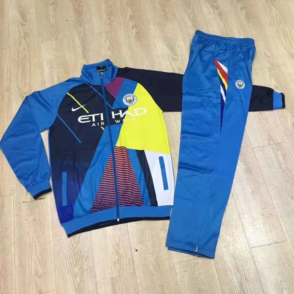 Manchester City 2019-2020 Tracksuit - Home