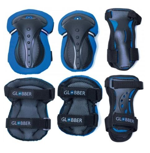 Globber protective set, Little Rookie Sport, globber scooters, scooters for kids, electric scooters, scooters online, afterpay, zippay, christmas afterpay, gifts, christmas gifts for kids, kids sports, 4 in 1 scooter for kids