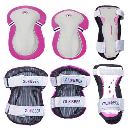 Globber Protective pads, Little Rookie Sport, globber scooters, scooters for kids, electric scooters, scooters online, afterpay, zippay, christmas afterpay, gifts, christmas gifts for kids, kids sports, 4 in 1 scooter for kids