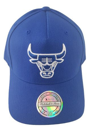 Mitchell & Ness Chicago Bulls Crown 110 Pinch Panel- Royal Blue - Little Rookie Sport (4343232200765)