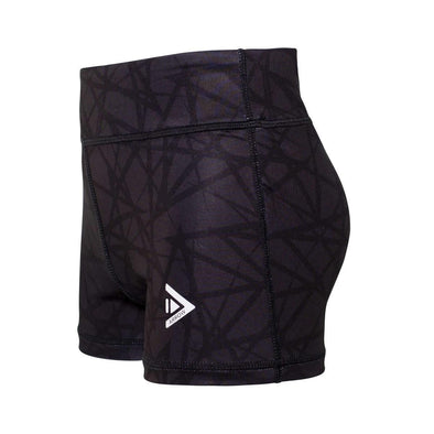 Arrow Geo Gunmetal Girls Shorts