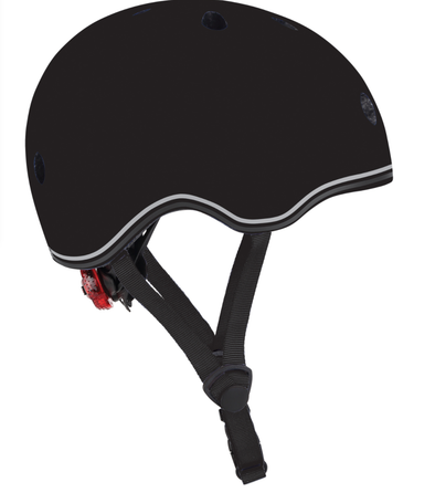 Globber Helmet Go Up Lights- BLACK XS/S (51-55CM)