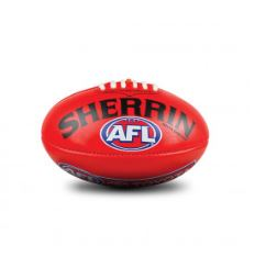 SHERRIN PVC 20CM MINI  AFL REPLICA BALL - Little Rookie Sport (1885808066606)