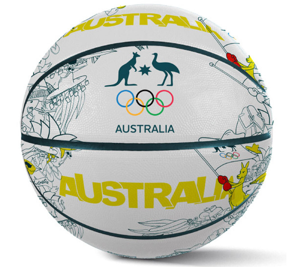 Australian Olympic Iconic Basketball