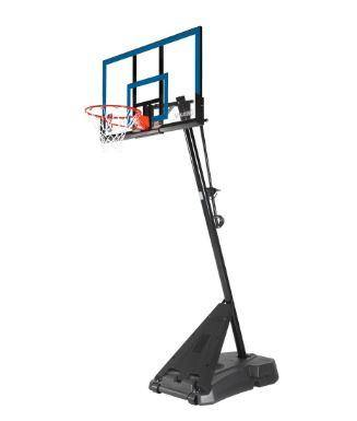 50 Inch Hercules Acrylic Basketball System - Little Rookie Sport (4321551646781)