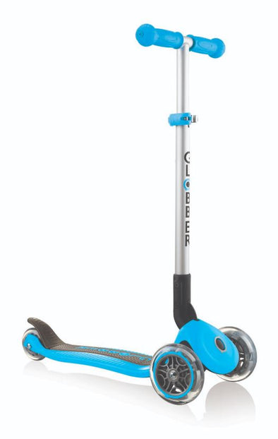 GLOBBER PRIMO Foldable Kids Scooter - Sky Blue - Little Rookie Sport (4283040596014)