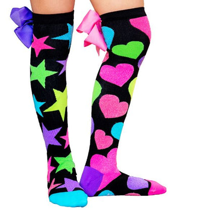 Madmia GLITTER with bows socks