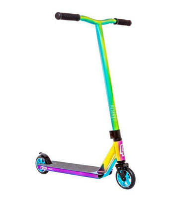 Crisp Surge Chrome kids Scooter- Blue/Green/Purple