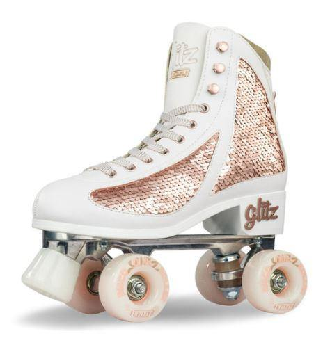 Crazy Skate Disco GLITZ - Rose Gold