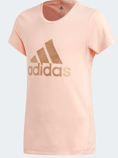 Adidas Girls Training Holiday Tee - Little Rookie Sport (4337186799677)
