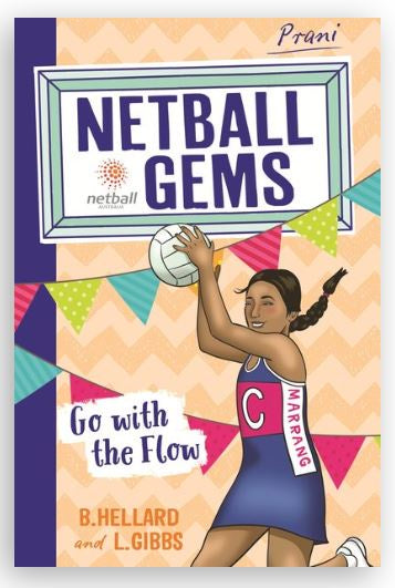 Netball Gems- Go With The Flow - Little Rookie Sport (4346664419389)