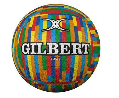 Gilbert Glam Netball- Stripes Sz5