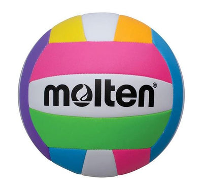 Molten 500 Series Beach Volleyball- Neon