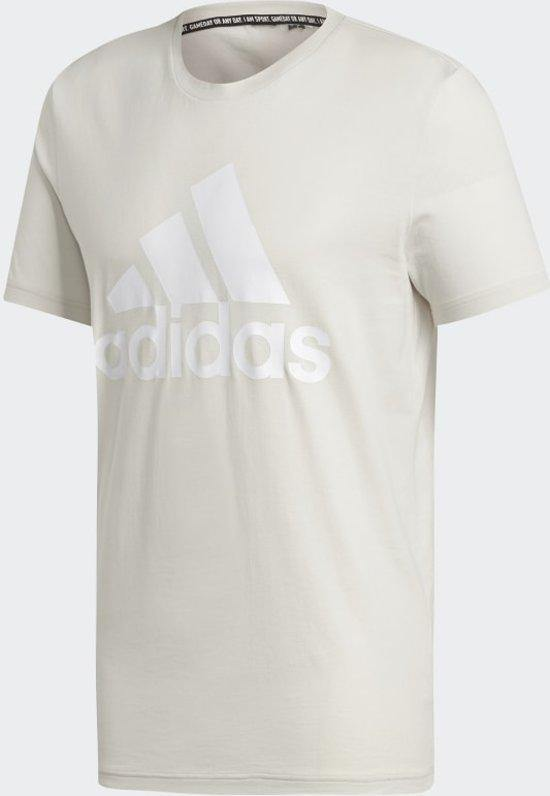 Adidas MH Bos Tee Raw White- Mens Shirt