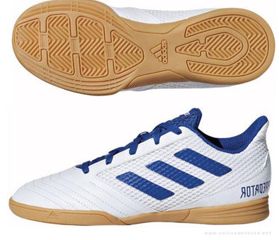 Adidas Predator 19.4 Indoor Futsal Kids /Junior Boots - Little Rookie Sport (1883706163246)