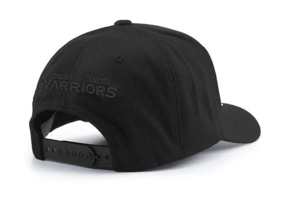 Golden State Warriors All Black Logo Snapback- Outerstuff Infant - Little Rookie Sport (1892686528558)