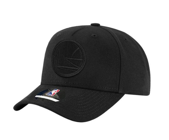 Golden State Warriors All Black Logo Snapback- Outerstuff Infant