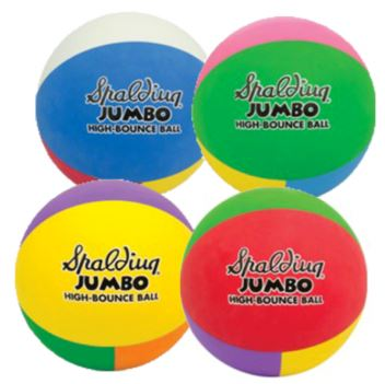 Spalding Jumbo High Bounce Ball