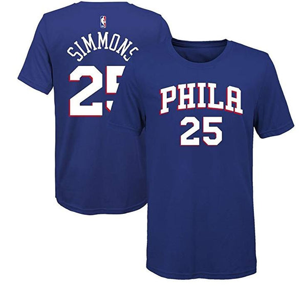 Outerstuff NBA 76ers Simmons Flat TEE- Youth - Little Rookie Sport (1892634918958)