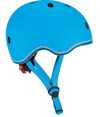 Globber Helmet Go Up Lights- SKY BLUE XS/S(51-55CM)