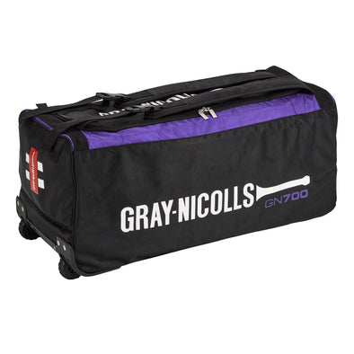 Gray Nicolls GN 700 Wheel Cricket Bag- BLK/PUR