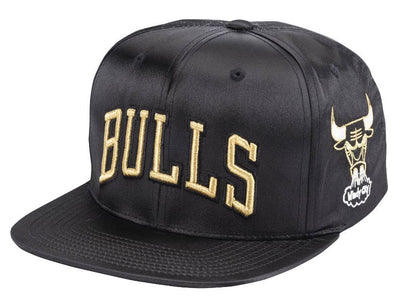 Mitchell & Ness Gold Toile Snapback- Chicago Bulls - Little Rookie Sport (4337039376445)
