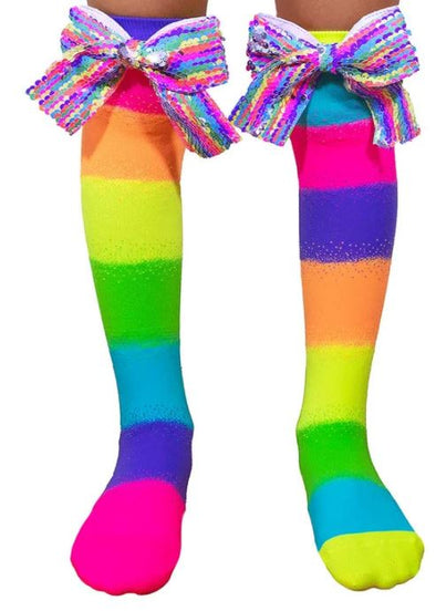Madmia RAINBOW socks with bows