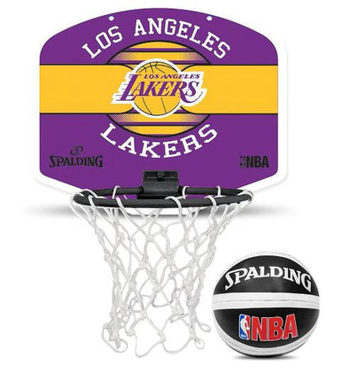 NBA Mini Backboard Set- LA Lakers