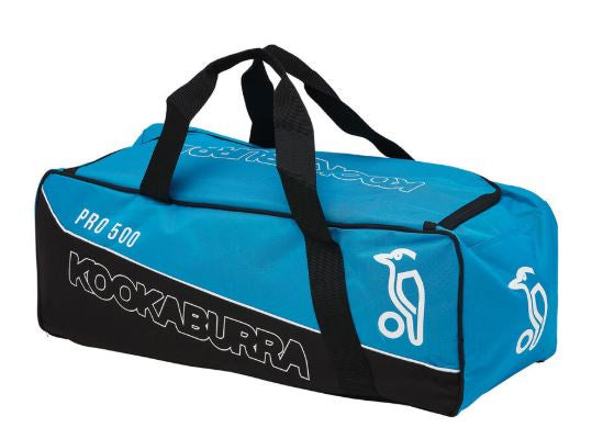 Kookaburra Pro 500 Cricket Kit Bag- Blue/Black - Little Rookie Sport (4355440967741)