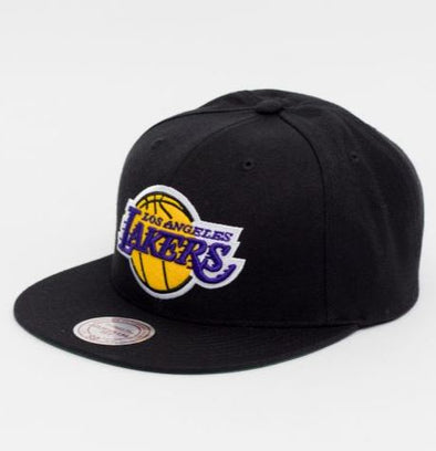 LA Lakers Vintage Juice J Snapback-Black - Little Rookie Sport (4293669421117)