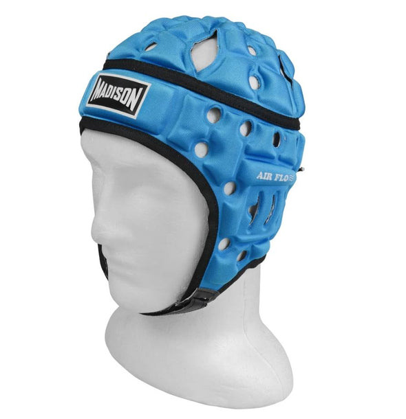 Madison Air Flow Neon Headguard- Sky Blue