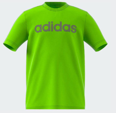 Adidas Boys Essential Linear Logo Tee- - Little Rookie Sport (4348229746749)