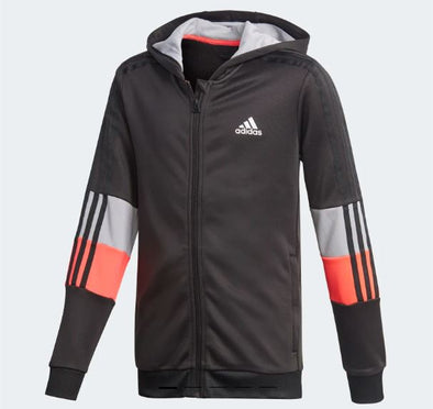 Must Haves Aeroready 3 Stripes Full Zip Hoodie