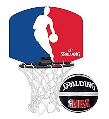 Spalding NBA Logoman Mini Basketball Backboard Set - Little Rookie Sport (1885788700718)