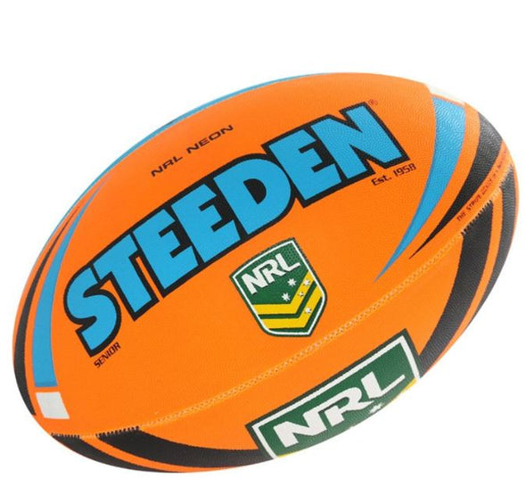 Steeden NRL Neon- Blue/Orange