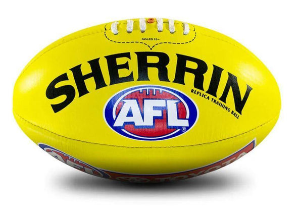 Sherrin Leather Training Replica Ball- SIZE 4